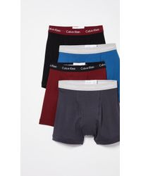 Calvin Klein - Cotton Classics 4 Pack Boxer Briefs - Lyst