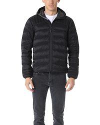 843dfee8dc6a5 Canada Goose Ashcroft Wool Hoody in Black for Men - Lyst