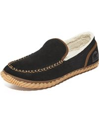 Sorel - ® Mens Dude Suede Moc Slippers - Lyst