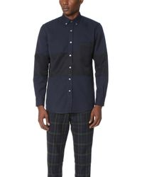 Timo Weiland - Marco Middle Stripe Shirt - Lyst