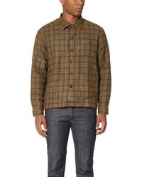 Brooklyn Tailors - Plaid Shirt Jacket - Lyst