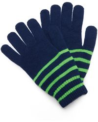 Paul Smith - Neon Stripe Gloves - Lyst