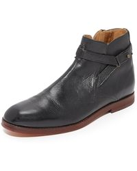 H by Hudson - Cutler Leather Ankle Boots - Lyst