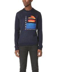 Patrik Ervell | Merino Jacquard Crew Sweater | Lyst