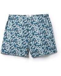 Sleepy Jones - Jasper Liberty Misti Nightflowers Print Boxer Shorts - Lyst