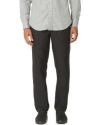 Mki miyuki-zoku Casual Suit Trousers in Black for Men | Lyst