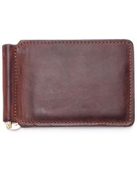JW Hulme - Money Clip Wallet - Lyst