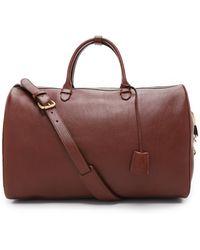 Lotuff Leather - #10 Weekender Bag - Lyst