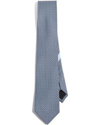 Ferragamo - Gancio Print Tie - Lyst