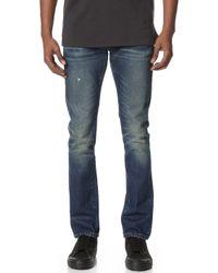 Earnest Sewn - Bryant Slouchy Slim Jeans - Lyst