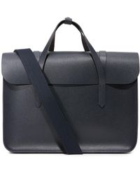 Cambridge Satchel Company - Saffiano Large Folio Briefcase - Lyst