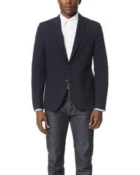 Brooklyn Tailors - Cotton Oxford Unstructured Jacket - Lyst