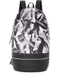 Z Zegna - Popline Leather Backpack - Lyst