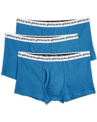 Les Girls, Les Boys - 3 Pack Ribbed Jersey Trunks - Lyst