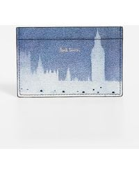 Paul Smith - London Photo Print Credit Card Case - Lyst