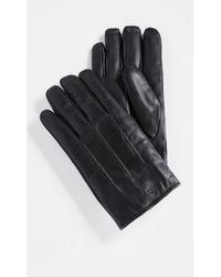 Ted Baker - Rainboe Leather Gloves - Lyst