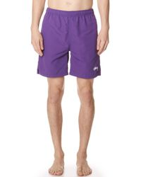 Stussy - Stock Water Shorts - Lyst