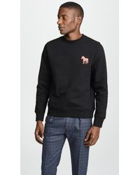 PS by Paul Smith - Embroidered Zebra Sweatshirt - Lyst