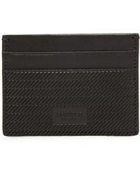 Shinola - Embossed 5 Pocket Card Case - Lyst