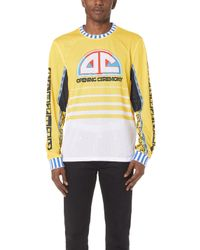 Opening Ceremony - Moto Mesh Pullover - Lyst