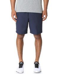 19ef4b5c4 Lacoste - Diamond Weave Taffeta Tennis Shorts - Lyst