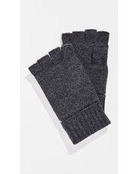 Polo Ralph Lauren - Wool Blend Fingerless Gloves - Lyst