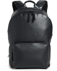 Troubadour - Leather Ziptop Backpack - Lyst
