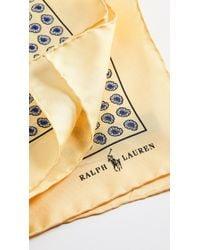 Polo Ralph Lauren - Boathouse Foulards Pocket Square - Lyst