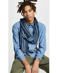 Paul Smith - Multi Textured Scarf - Lyst