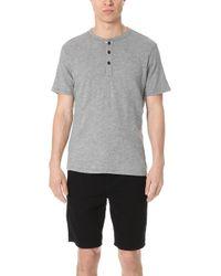 Rag & Bone - Standard Issue Short Sleeve Henley - Lyst