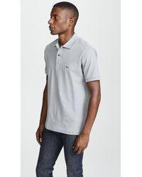 Lacoste - Classic Pique Polo Shirt - Lyst