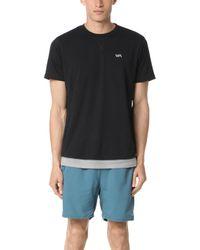 RVCA - Runner Mesh Short Sleeve Shirt - Lyst