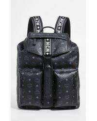 MCM - Raymonde Two Pocket Medium Backpack - Lyst