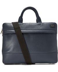 Jack Spade - Pebbled Leather Slim Briefcase - Lyst