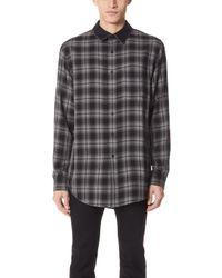 Alexander Wang - Combo Collar Shirt - Lyst