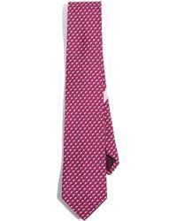 Ferragamo - Mouse Print Tie - Lyst