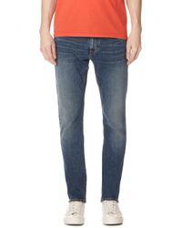 Calvin Klein Jeans - Slim Fred Blue Jeans - Lyst