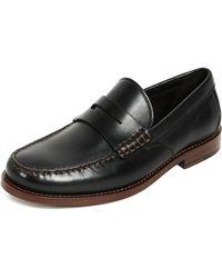 COACH - Manhattan Leather Loafer - Lyst