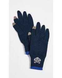 KENZO - Men Tiger Crest Gloves - Lyst