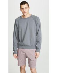 Save Khaki - Supima Fleece Crew Sweatshirt - Lyst