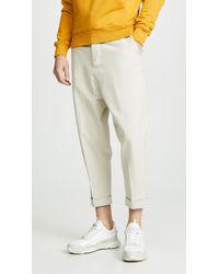 AMI Oversized Carrot Pants