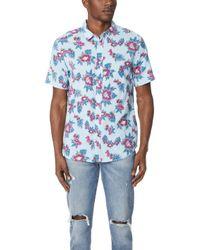 RVCA - Mcmillan Floral Shirt - Lyst