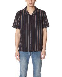 Vince - Vintage Stripe Cabana Shirt - Lyst