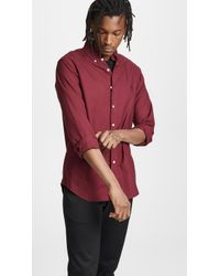 Polo Ralph Lauren - Slim Fit Garment Dyed Button Down Shirt - Lyst