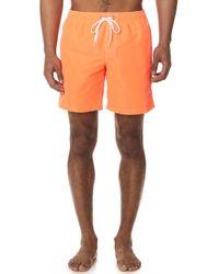Sundek - Long Fixed Waist Board Shorts - Lyst