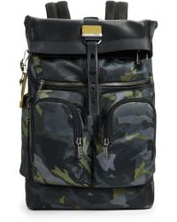 Tumi - Alpha London Roll Top Backpack - Lyst