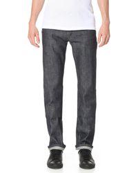 A.P.C. - New Standard Indigo Jeans - Lyst