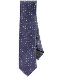 HUGO - Irregular Dot Print Tie - Lyst