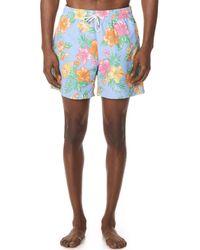 Polo Ralph Lauren - Hibiscus Traveller Swim Trunks - Lyst