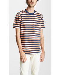 Albam - Striped T-shirt - Lyst